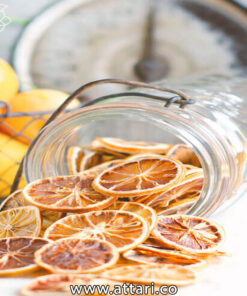 لیمو خشک اسلایس شده