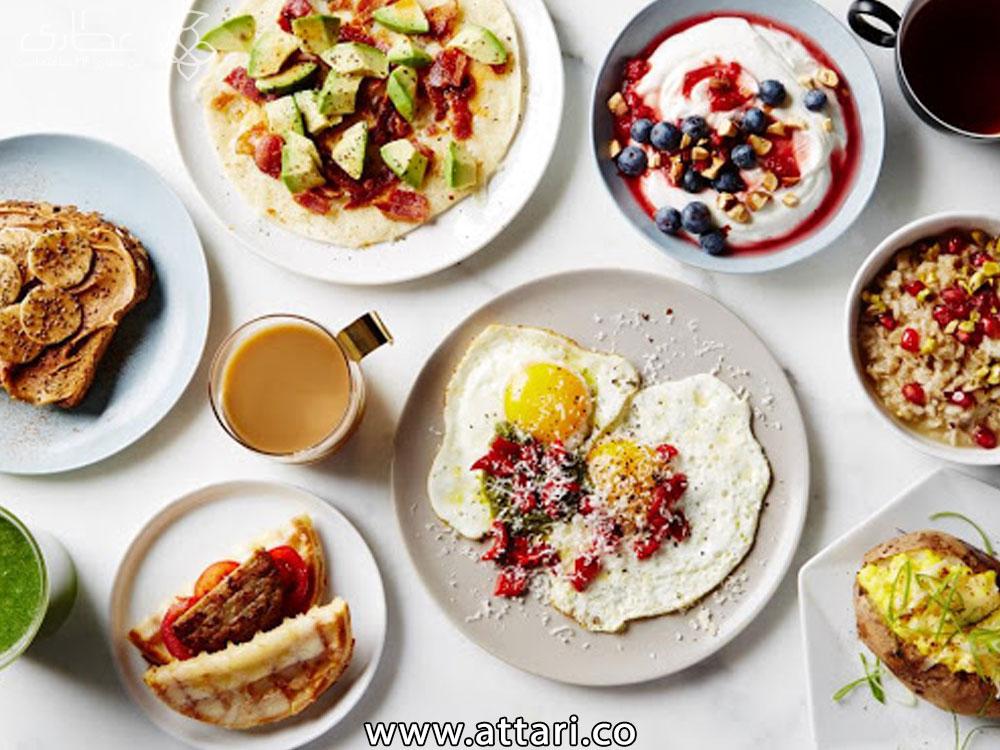 صبحانه سالم برای کاهش وزن